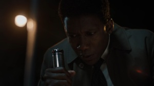 The Great War and Modern Memory- Wayne examines some prints in the mud- HBO, True Detective