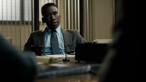 The Great War and Modern Memory- Wayne explains that he was working with his partner on a series of theft cases- HBO, True Detective