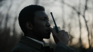 The Great War and Modern Memory- Wayne radios to Roland that he's found Will- HBO, True Detective