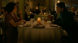 The Hour and the Day- Amelia and Wayne have dinner- HBO, True Detective