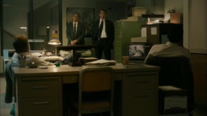 The Hour and the Day- Detectives tell Roland and Wayne that they got a hint on the bike prints- HBO, True Detective