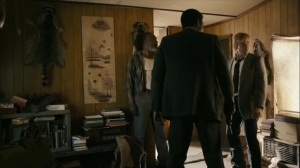 The Hour and the Day- Roland and Wayne take Sam Whitehead into his home- HBO, True Detective