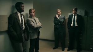 The Hour and the Day- Roland asks Wayne about using prison rape as a go-to- HBO, True Detective