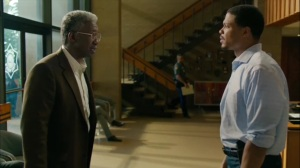 The Hour and the Day- Roland visits Henry at work in 2015- HBO, True Detective