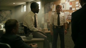 The Hour and the Day- Roland, Wayne, and feds discuss Sam Whitehead- HBO, True Detective