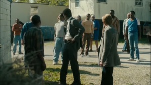 The Hour and the Day- Wayne and Roland in the black neighborhood- HBO, True Detective