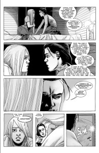 The Walking Dead #187- Carl discusses his friendship with Sophia, says he and Lydia are monsters