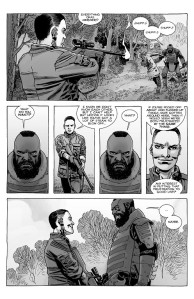 The Walking Dead #187- Laura talks with Mercer about his Commonwealth frustration