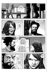 The Walking Dead #187- Magna tells Siddiq to head to the Hilltop
