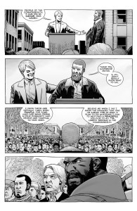 The Walking Dead #187- Pamela thanks Rick for saving her life