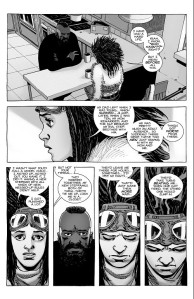 The Walking Dead #187- Princess tells Mercer about her abusive upbringing