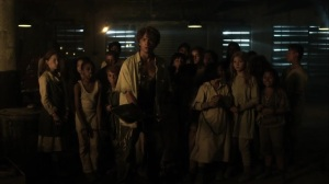 Trespassers- Gabriel and the kids rescued by Jim- Fox, Gotham, DC
