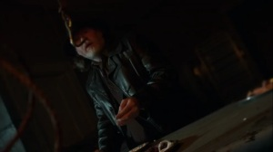 Trespassers- Harvey finds teeth, watches, and fingers in the basement- Fox, Gotham, DC