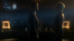 Trespassers- Jim asks Barbara for transportation through her territory- Fox, Gotham, DC