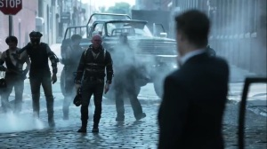 Trespassers- Sykes and his crew find Jim- Fox, Gotham, DC