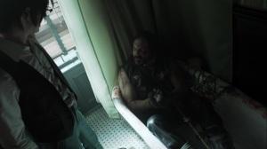 Trespassers- Tank, played byDavid Kallaway, talks with Riddler- Fox, Gotham, DC
