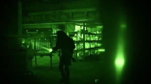 Year Zero- Bruce wears night vision goggles to take on Scarecrow's crew- Fox, Gotham, DC