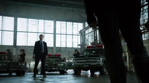 Year Zero- GCPD confronts Penguin before he can steal the supplies- Fox, Gotham, DC