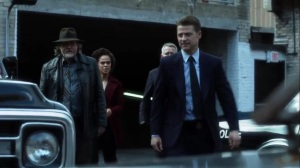 Year Zero- GCPD heads out to check the chopper while Alfred stays behind- Fox, Gotham, DC
