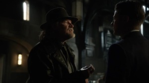 Year Zero- Harvey asks Jim why he didn't just kill Penguin- Fox, Gotham, DC