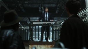 Year Zero- Jim addresses the citizens at the precinct- Fox, Gotham, DC