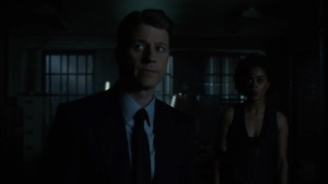 Year Zero- Jim and Harper at the GCPD when the power goes out- Fox, Gotham, DC