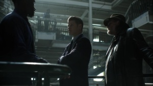 Year Zero- Jim, Harvey, and Lucius discuss the food situation- Fox, Gotham, DC