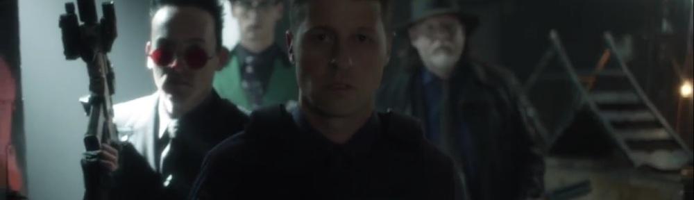 Year Zero- Jim, Harvey, Oswald, and Riddler prepare for battle- Fox, Gotham, DC