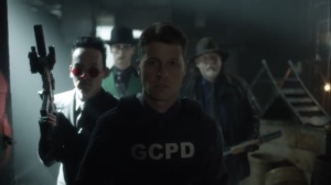 Year Zero- Jim, Harvey, Oswald, and Riddler prepare for battle- Fox, Gotham, DC
