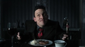 Year Zero- Oswald's steak is overcooked- Fox, Gotham, DC