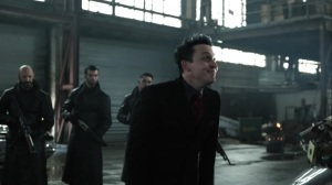Year Zero- Penguin arrives at the downed chopper to collect the supplies- Fox, Gotham, DC