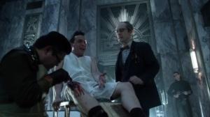 Year Zero- Penguin gets a bullet taken out of his leg- Fox, Gotham, DC