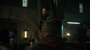 13 Stitches- Eduardo addresses the GCPD- Fox, Gotham