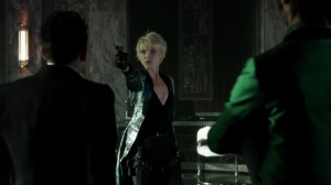 Ace Chemicals- Barbara tries to shoot and kill Oswald- Fox, Gotham