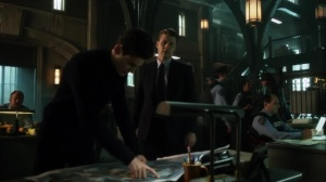 Ace Chemicals- Bruce tells Jim that he wants to keep searching for Alfred- Fox, Gotham