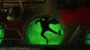 Ace Chemicals- Jeremiah falls into the chemicals- Fox, Gotham
