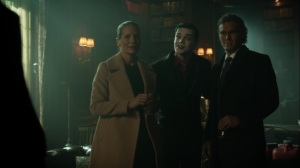Ace Chemicals- Jeremiah tells Bruce that today is a big day for him- Fox, Gotham