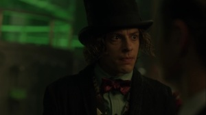 Ace Chemicals- Jervis Tetch tells Jim that he is not Jeremiah's errand boy- Fox, Gotham