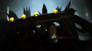 Ace Chemicals- Jim drives away with the fireworks- Fox, Gotham