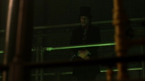 Ace Chemicals- Mad Hatter orders workers to attack Jim and Leslie- Fox, Gotham
