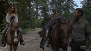 Adaptation- Aaron tells Eugene that Jesus made his own decision- AMC, The Walking Dead