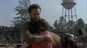 Adaptation- Arriving at Hilltop with Jesus' body- AMC, The Walking Dead