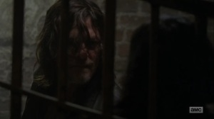 Adaptation- Daryl demands answers from Lydia- AMC, The Walking Dead
