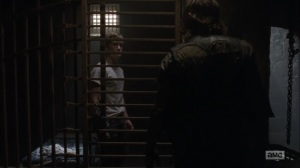 Adaptation- Daryl tells Henry to keep his mouth shut- AMC, The Walking Dead