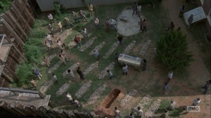 Adaptation- Hilltop holds a funeral for Jesus- AMC, The Walking Dead