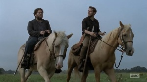 Adaptation- Luke and Alden talk about music- AMC, The Walking Dead