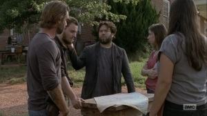Adaptation- Luke offers to help search for the others outside the walls- AMC, The Walking Dead