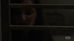 Adaptation- Lydia, played by Cassady McClincy, introduces herself to Henry- AMC, The Walking Dead