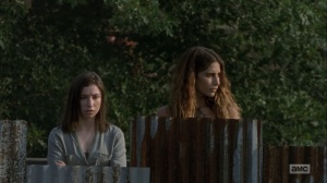 Adaptation- Magna joins Enid at the Hilltop- AMC, The Walking Dead