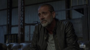 Adaptation- Negan alone at the Sanctuary- AMC, The Walking Dead